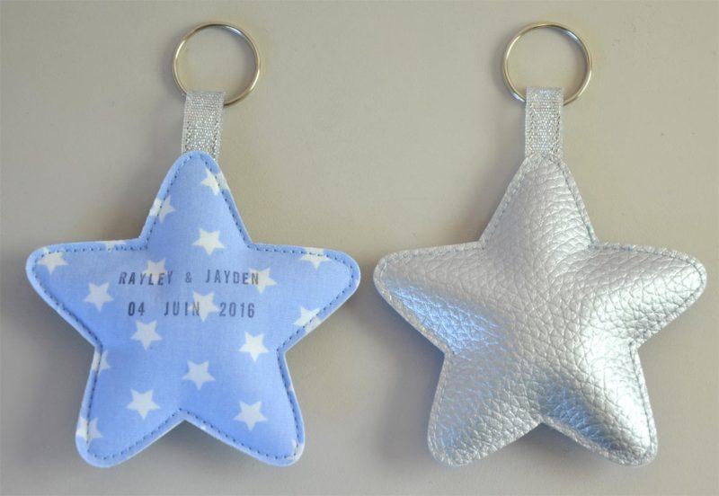 porte clés étoile